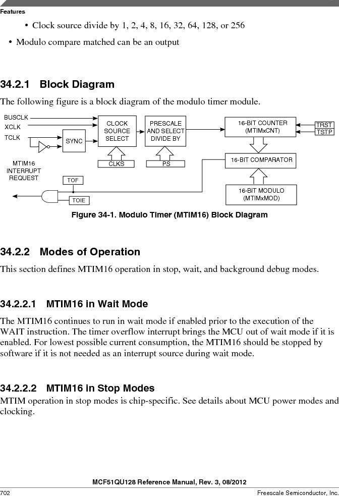 MCF51QU32VHS ,Freescale Semiconductor厂商,IC MCU 32BIT 32K FLASH 44LGA, MCF51QU32VHS datasheet预览  第702页