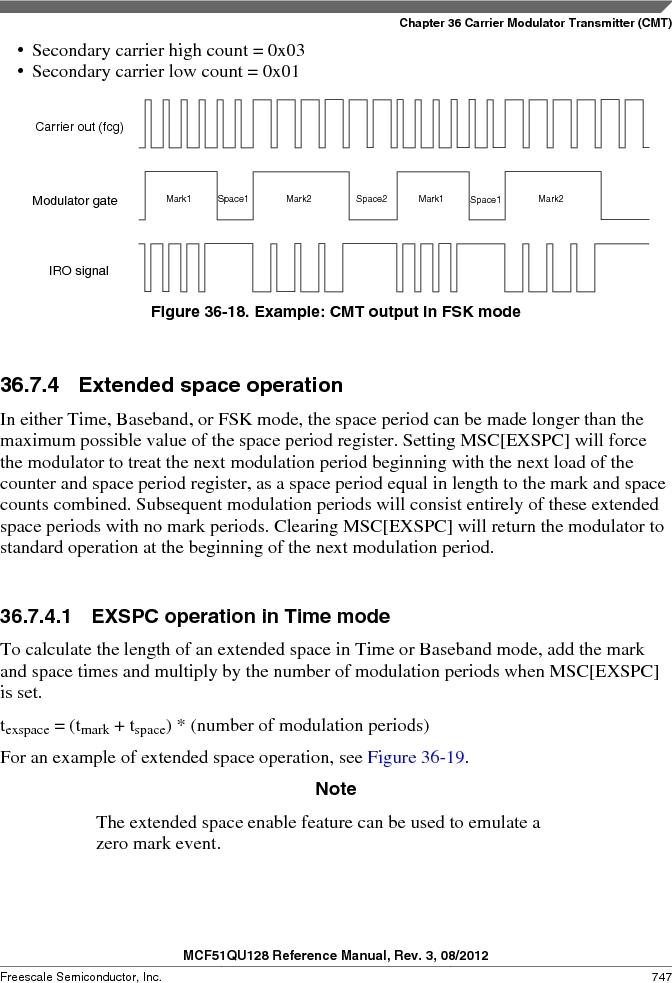 MCF51QU32VHS ,Freescale Semiconductor厂商,IC MCU 32BIT 32K FLASH 44LGA, MCF51QU32VHS datasheet预览  第747页