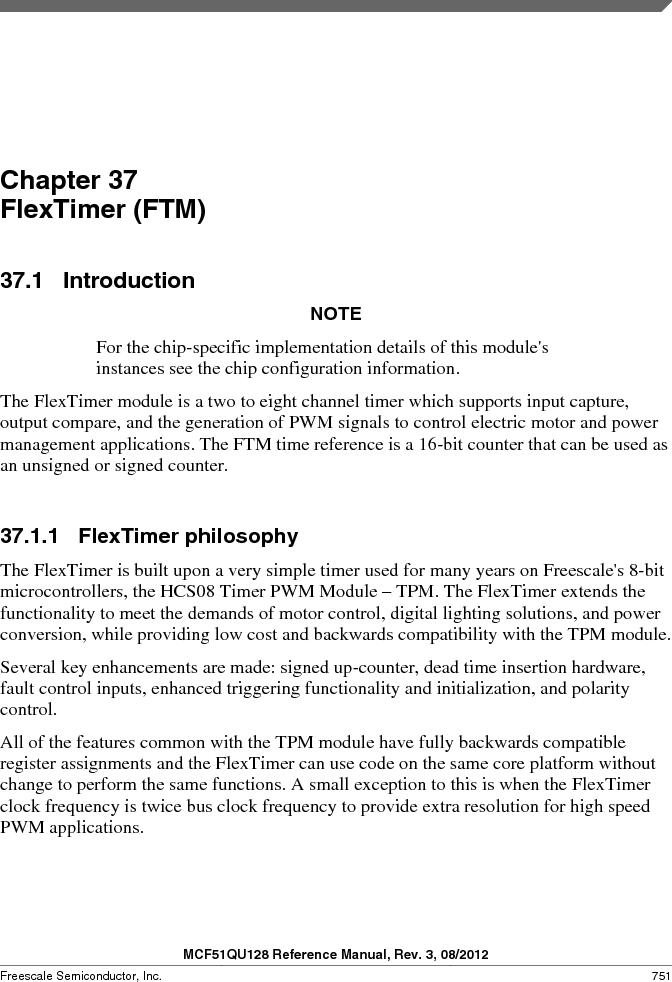 MCF51QU32VHS ,Freescale Semiconductor厂商,IC MCU 32BIT 32K FLASH 44LGA, MCF51QU32VHS datasheet预览  第751页
