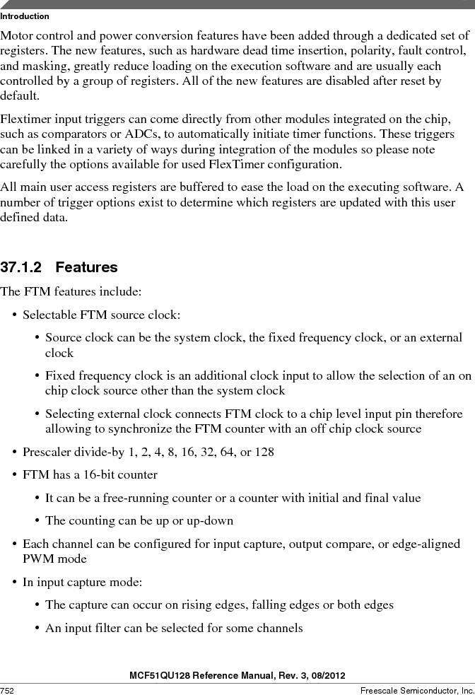MCF51QU32VHS ,Freescale Semiconductor厂商,IC MCU 32BIT 32K FLASH 44LGA, MCF51QU32VHS datasheet预览  第752页