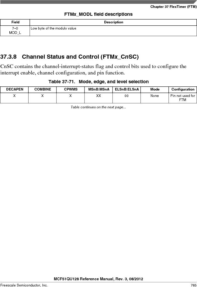 MCF51QU32VHS ,Freescale Semiconductor厂商,IC MCU 32BIT 32K FLASH 44LGA, MCF51QU32VHS datasheet预览  第765页