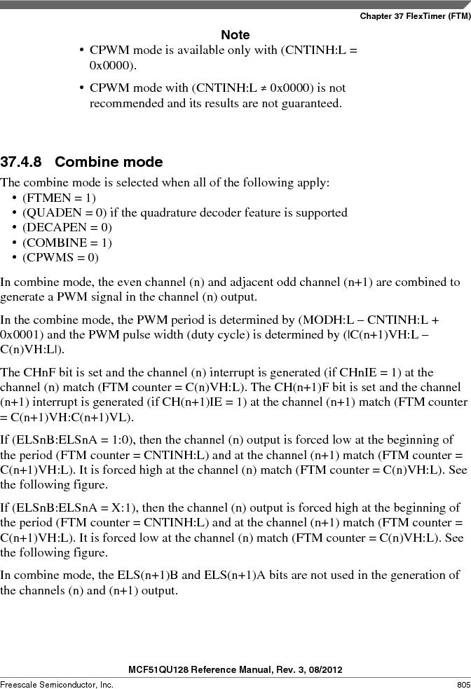 MCF51QU32VHS ,Freescale Semiconductor厂商,IC MCU 32BIT 32K FLASH 44LGA, MCF51QU32VHS datasheet预览  第805页