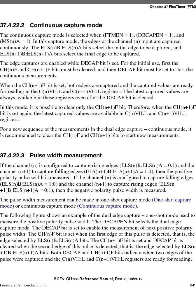 MCF51QU32VHS ,Freescale Semiconductor厂商,IC MCU 32BIT 32K FLASH 44LGA, MCF51QU32VHS datasheet预览  第841页
