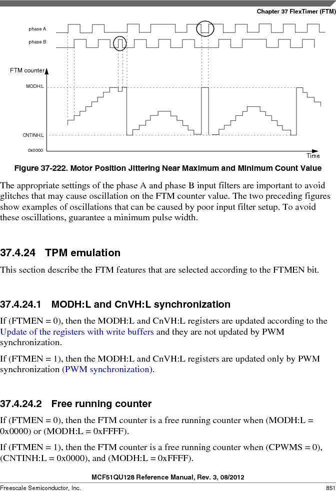 MCF51QU32VHS ,Freescale Semiconductor厂商,IC MCU 32BIT 32K FLASH 44LGA, MCF51QU32VHS datasheet预览  第851页