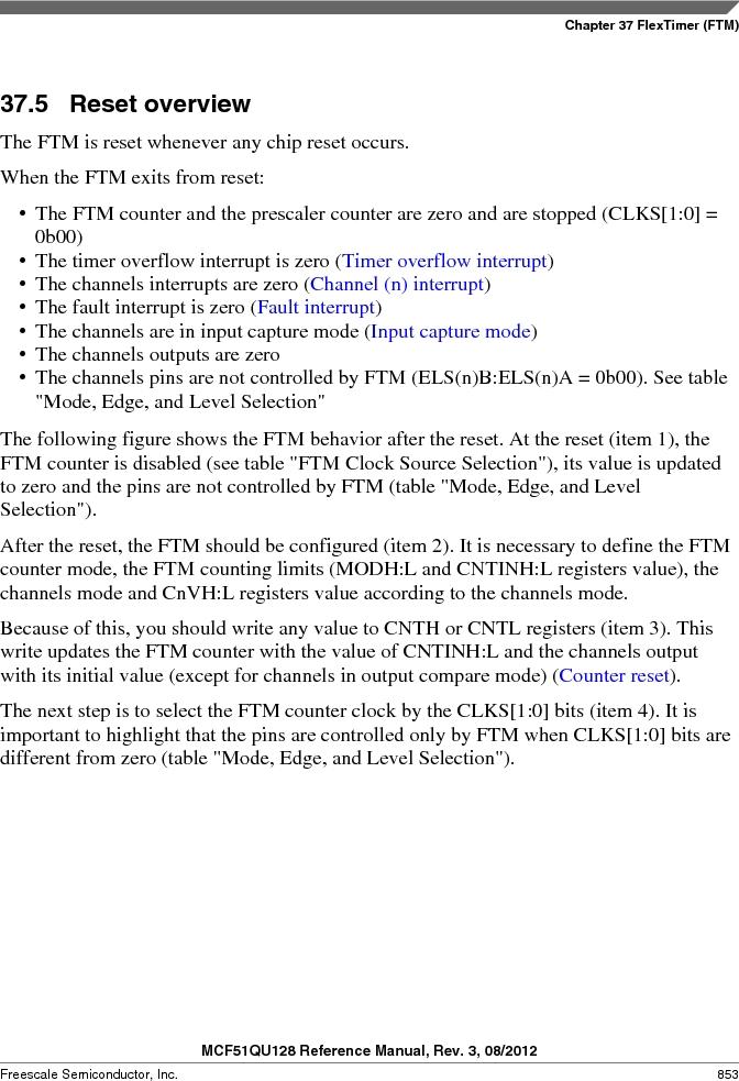 MCF51QU32VHS ,Freescale Semiconductor厂商,IC MCU 32BIT 32K FLASH 44LGA, MCF51QU32VHS datasheet预览  第853页