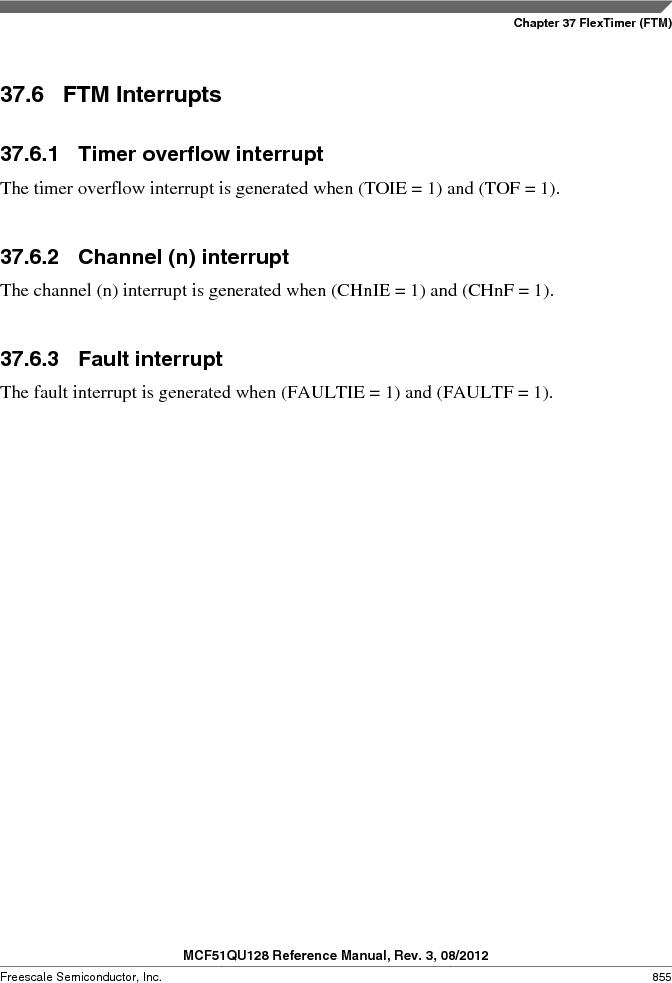MCF51QU32VHS ,Freescale Semiconductor厂商,IC MCU 32BIT 32K FLASH 44LGA, MCF51QU32VHS datasheet预览  第855页