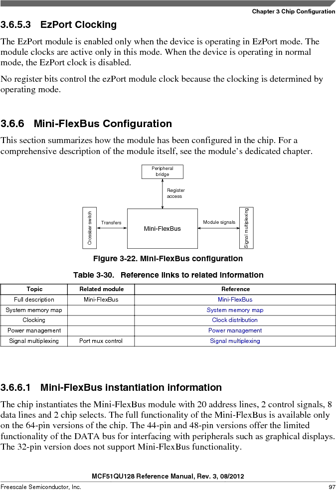 MCF51QU32VHS ,Freescale Semiconductor厂商,IC MCU 32BIT 32K FLASH 44LGA, MCF51QU32VHS datasheet预览  第97页
