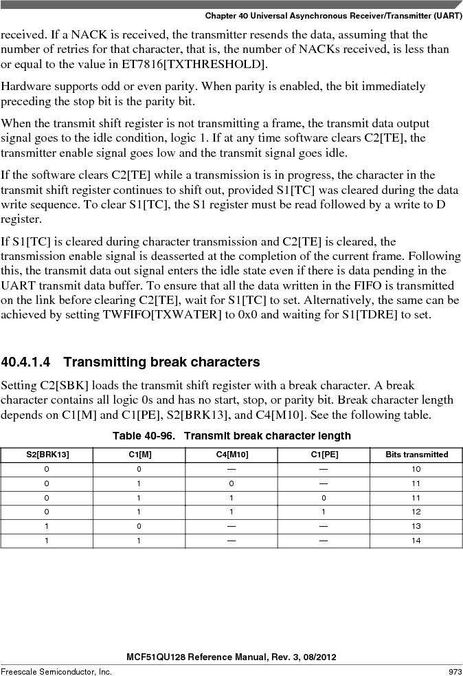 MCF51QU32VHS ,Freescale Semiconductor厂商,IC MCU 32BIT 32K FLASH 44LGA, MCF51QU32VHS datasheet预览  第973页