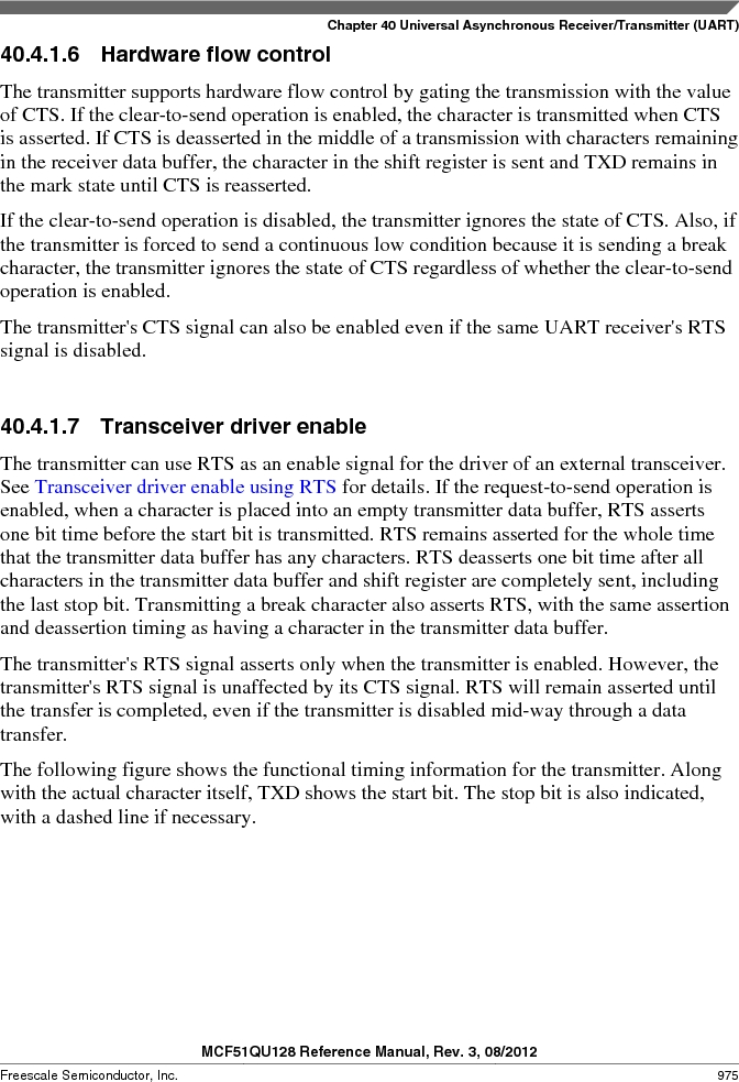 MCF51QU32VHS ,Freescale Semiconductor厂商,IC MCU 32BIT 32K FLASH 44LGA, MCF51QU32VHS datasheet预览  第975页