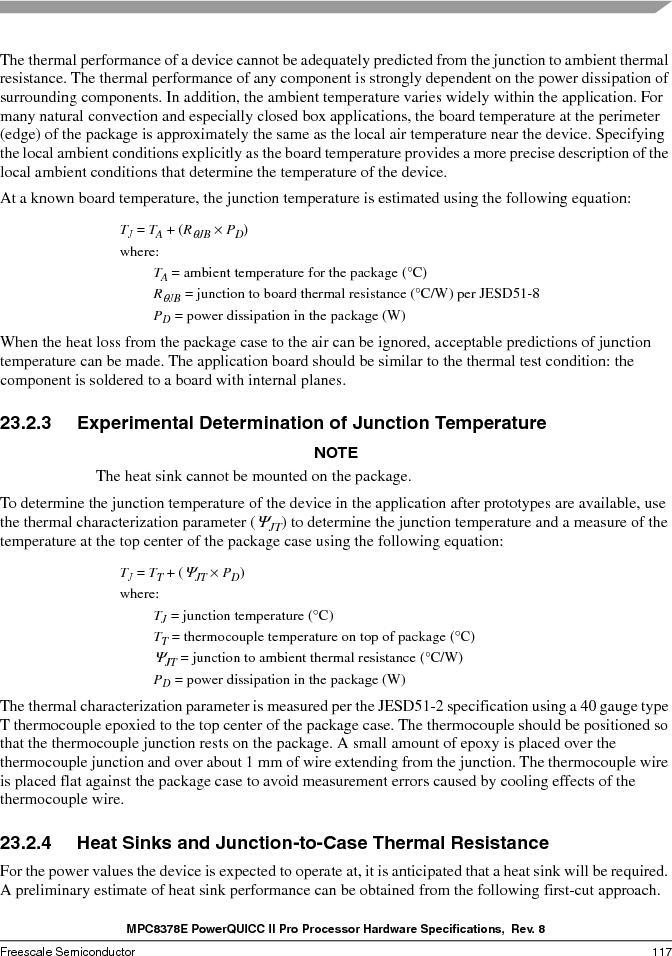 MPC8378VRAGDA ,Freescale Semiconductor厂商,MPU POWERQUICC II 400MHZ 689PBGA, MPC8378VRAGDA datasheet预览  第117页