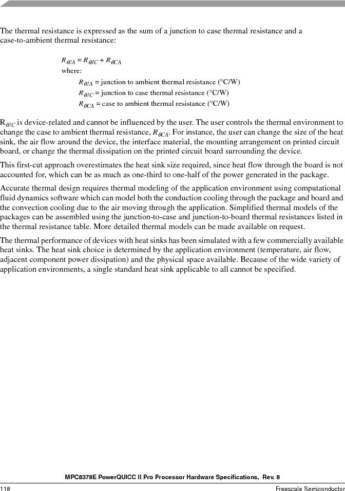 MPC8378VRAGDA ,Freescale Semiconductor厂商,MPU POWERQUICC II 400MHZ 689PBGA, MPC8378VRAGDA datasheet预览  第118页