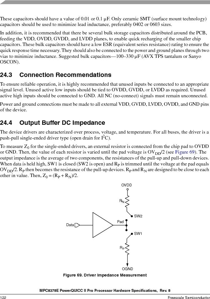 MPC8378VRAGDA ,Freescale Semiconductor厂商,MPU POWERQUICC II 400MHZ 689PBGA, MPC8378VRAGDA datasheet预览  第122页