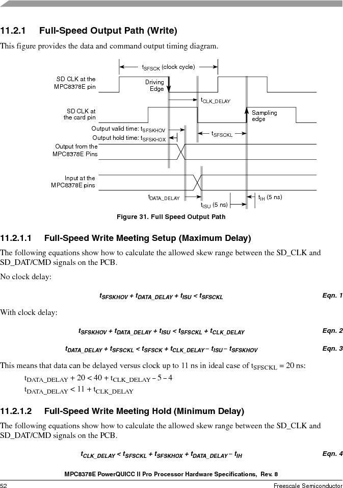 MPC8378VRAGDA ,Freescale Semiconductor厂商,MPU POWERQUICC II 400MHZ 689PBGA, MPC8378VRAGDA datasheet预览  第52页