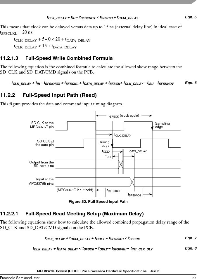MPC8378VRAGDA ,Freescale Semiconductor厂商,MPU POWERQUICC II 400MHZ 689PBGA, MPC8378VRAGDA datasheet预览  第53页