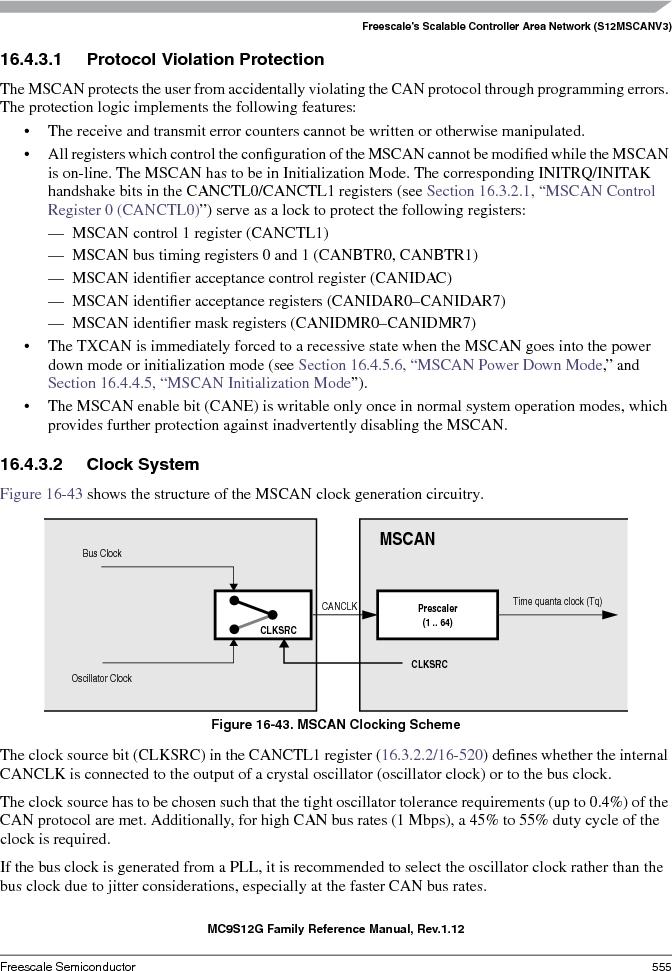 S9S12GA240F0MLL ,Freescale Semiconductor厂商,IC MCU 16BIT 240KB FLASH 100LQFP, S9S12GA240F0MLL datasheet预览  第555页