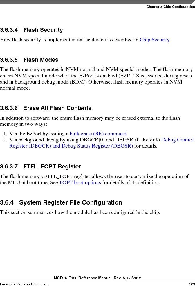 MCF51JF32VHS ,Freescale Semiconductor厂商,IC MCU 32BIT 32KB FLASH 44LGA, MCF51JF32VHS datasheet预览  第103页