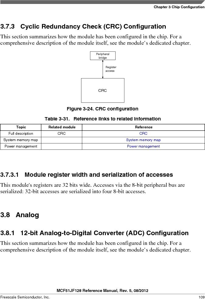 MCF51JF32VHS ,Freescale Semiconductor厂商,IC MCU 32BIT 32KB FLASH 44LGA, MCF51JF32VHS datasheet预览  第109页