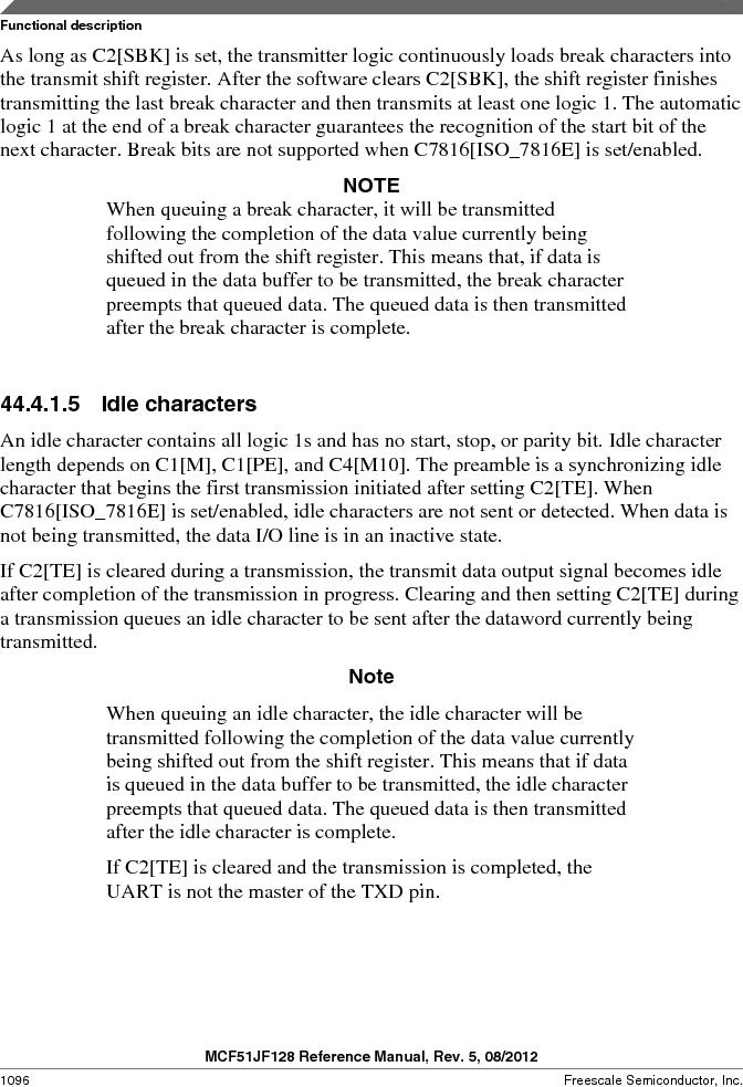 MCF51JF32VHS ,Freescale Semiconductor厂商,IC MCU 32BIT 32KB FLASH 44LGA, MCF51JF32VHS datasheet预览  第1096页