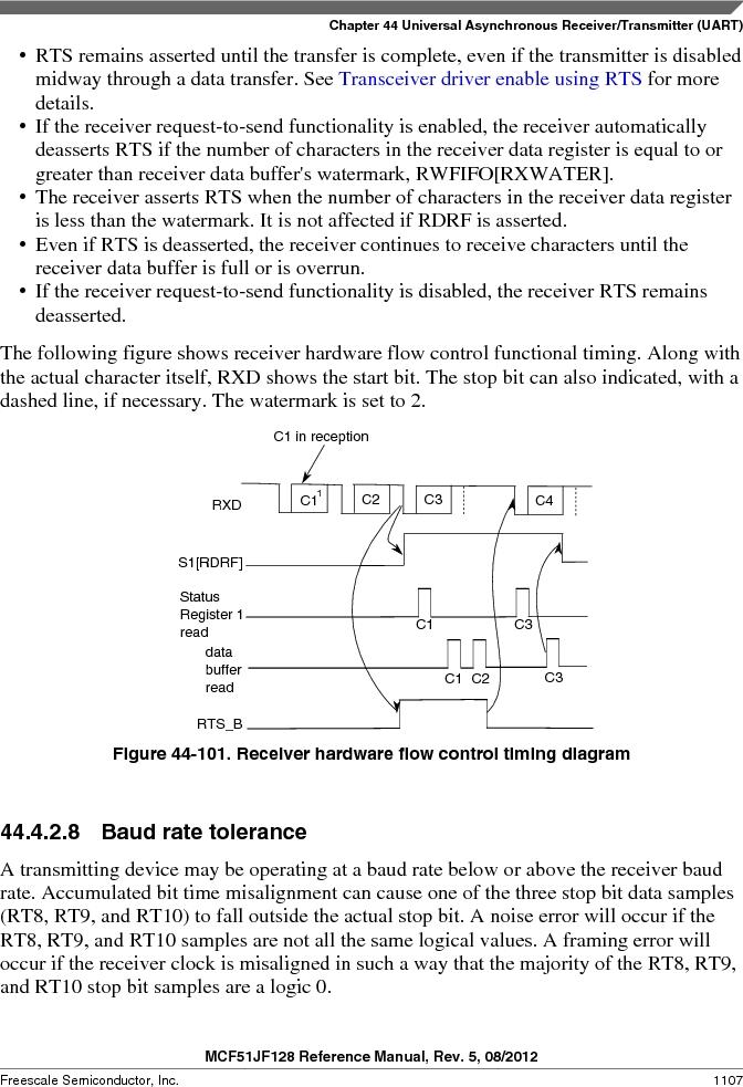 MCF51JF32VHS ,Freescale Semiconductor厂商,IC MCU 32BIT 32KB FLASH 44LGA, MCF51JF32VHS datasheet预览  第1107页