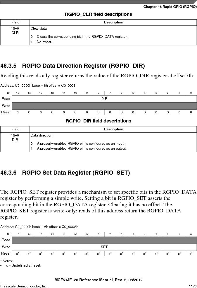 MCF51JF32VHS ,Freescale Semiconductor厂商,IC MCU 32BIT 32KB FLASH 44LGA, MCF51JF32VHS datasheet预览  第1173页