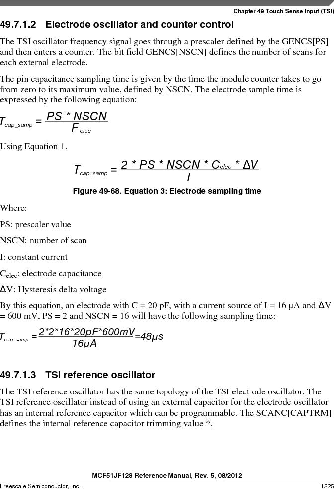 MCF51JF32VHS ,Freescale Semiconductor厂商,IC MCU 32BIT 32KB FLASH 44LGA, MCF51JF32VHS datasheet预览  第1225页