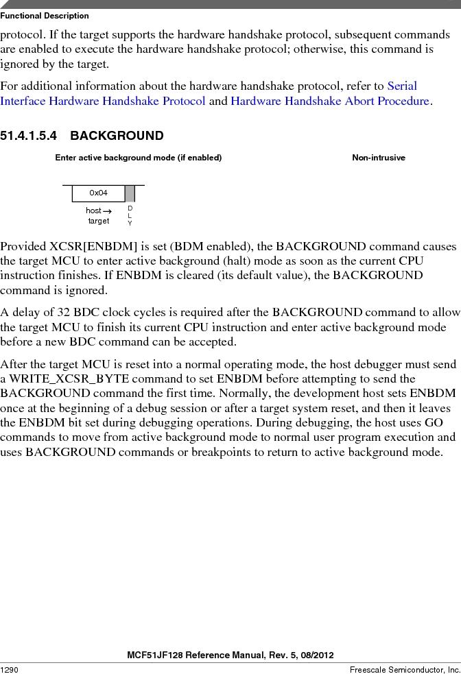 MCF51JF32VHS ,Freescale Semiconductor厂商,IC MCU 32BIT 32KB FLASH 44LGA, MCF51JF32VHS datasheet预览  第1290页
