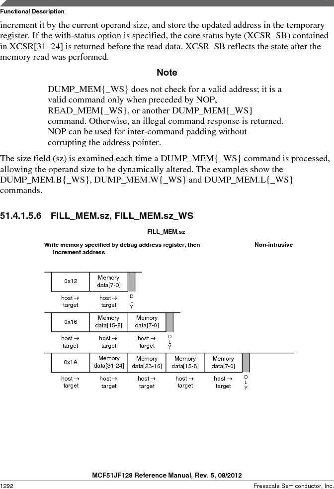 MCF51JF32VHS ,Freescale Semiconductor厂商,IC MCU 32BIT 32KB FLASH 44LGA, MCF51JF32VHS datasheet预览  第1292页