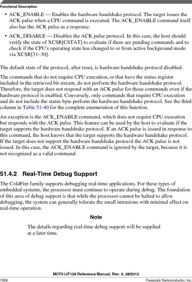 MCF51JF32VHS ,Freescale Semiconductor厂商,IC MCU 32BIT 32KB FLASH 44LGA, MCF51JF32VHS datasheet预览  第1308页