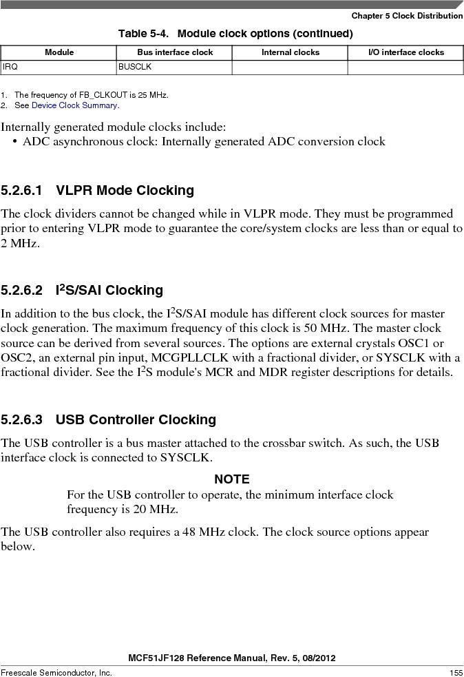 MCF51JF32VHS ,Freescale Semiconductor厂商,IC MCU 32BIT 32KB FLASH 44LGA, MCF51JF32VHS datasheet预览  第155页