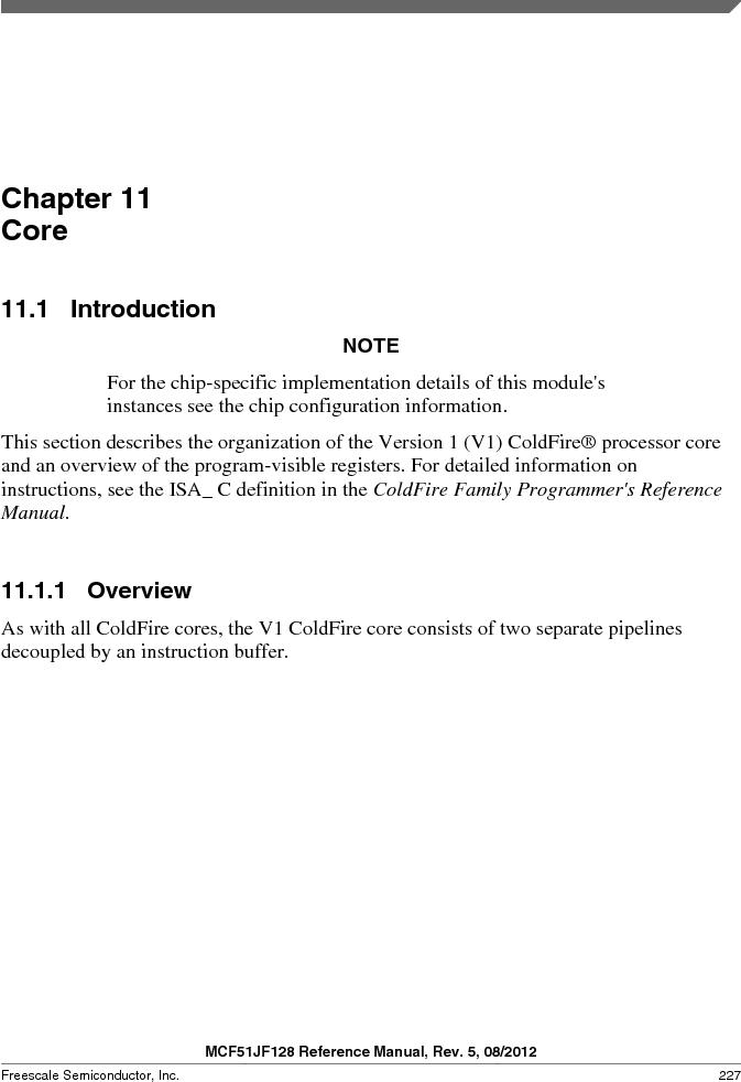 MCF51JF32VHS ,Freescale Semiconductor厂商,IC MCU 32BIT 32KB FLASH 44LGA, MCF51JF32VHS datasheet预览  第227页