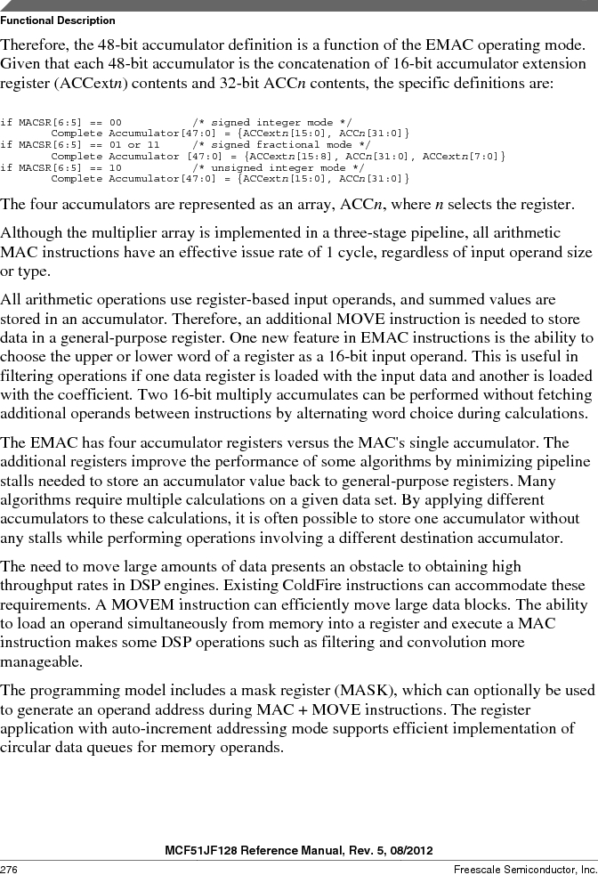 MCF51JF32VHS ,Freescale Semiconductor厂商,IC MCU 32BIT 32KB FLASH 44LGA, MCF51JF32VHS datasheet预览  第276页