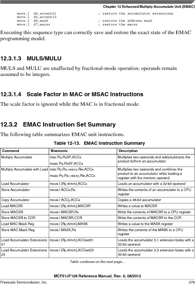 MCF51JF32VHS ,Freescale Semiconductor厂商,IC MCU 32BIT 32KB FLASH 44LGA, MCF51JF32VHS datasheet预览  第279页