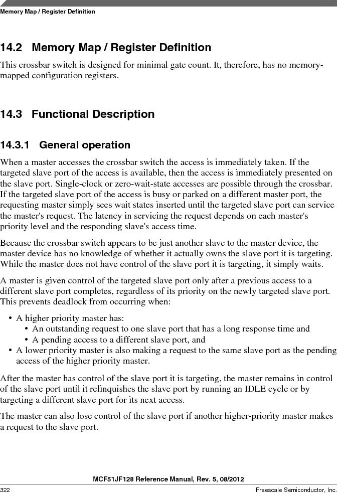 MCF51JF32VHS ,Freescale Semiconductor厂商,IC MCU 32BIT 32KB FLASH 44LGA, MCF51JF32VHS datasheet预览  第322页