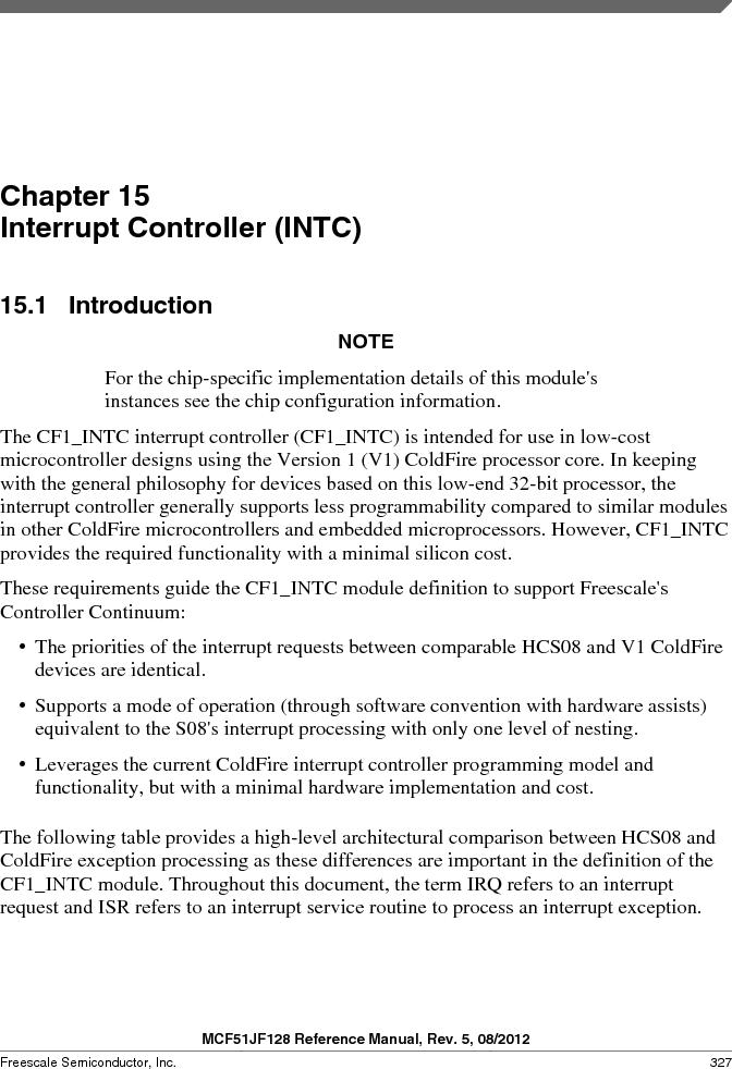 MCF51JF32VHS ,Freescale Semiconductor厂商,IC MCU 32BIT 32KB FLASH 44LGA, MCF51JF32VHS datasheet预览  第327页