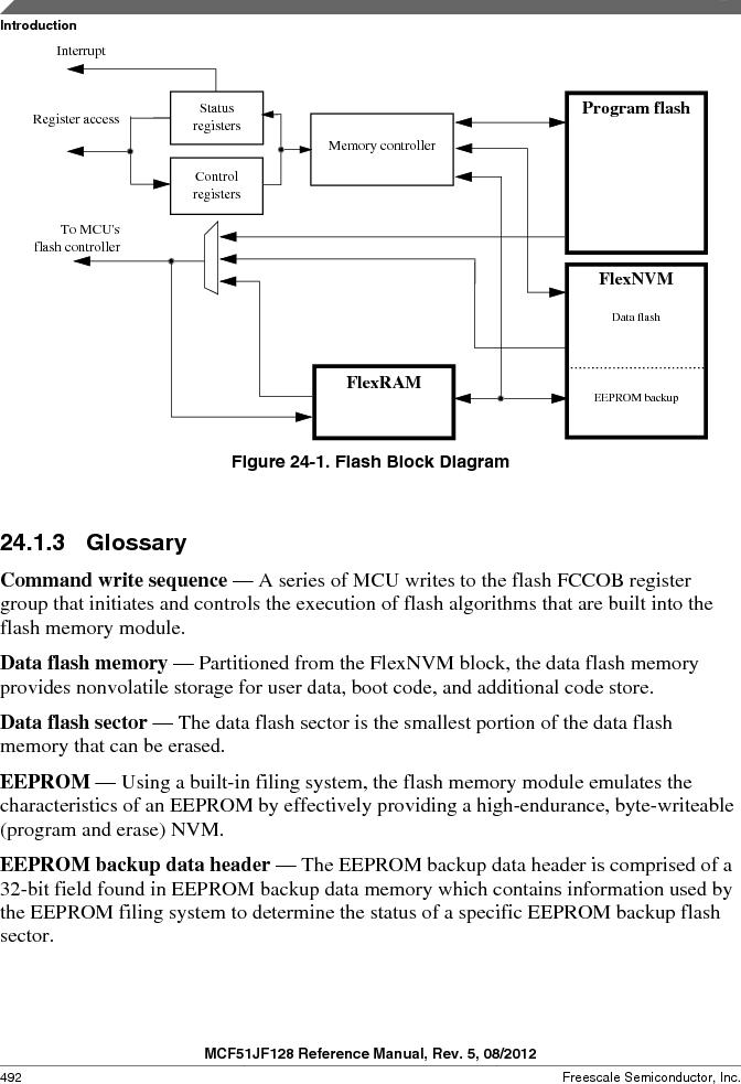MCF51JF32VHS ,Freescale Semiconductor厂商,IC MCU 32BIT 32KB FLASH 44LGA, MCF51JF32VHS datasheet预览  第492页