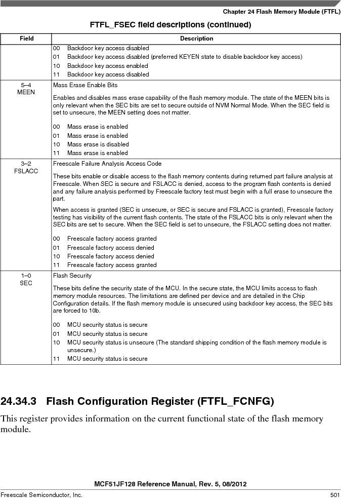 MCF51JF32VHS ,Freescale Semiconductor厂商,IC MCU 32BIT 32KB FLASH 44LGA, MCF51JF32VHS datasheet预览  第501页