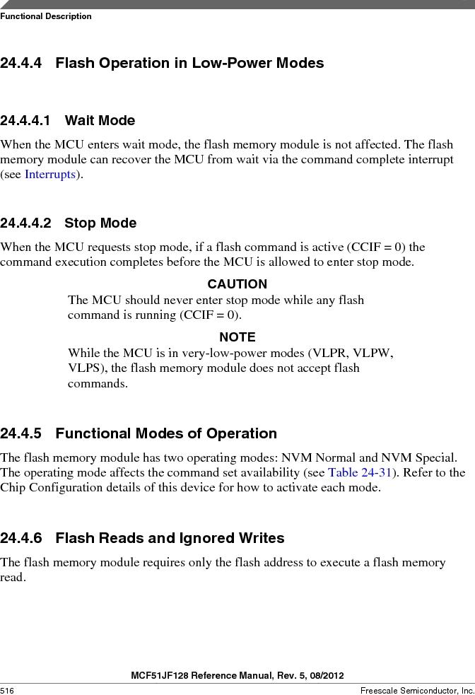 MCF51JF32VHS ,Freescale Semiconductor厂商,IC MCU 32BIT 32KB FLASH 44LGA, MCF51JF32VHS datasheet预览  第516页