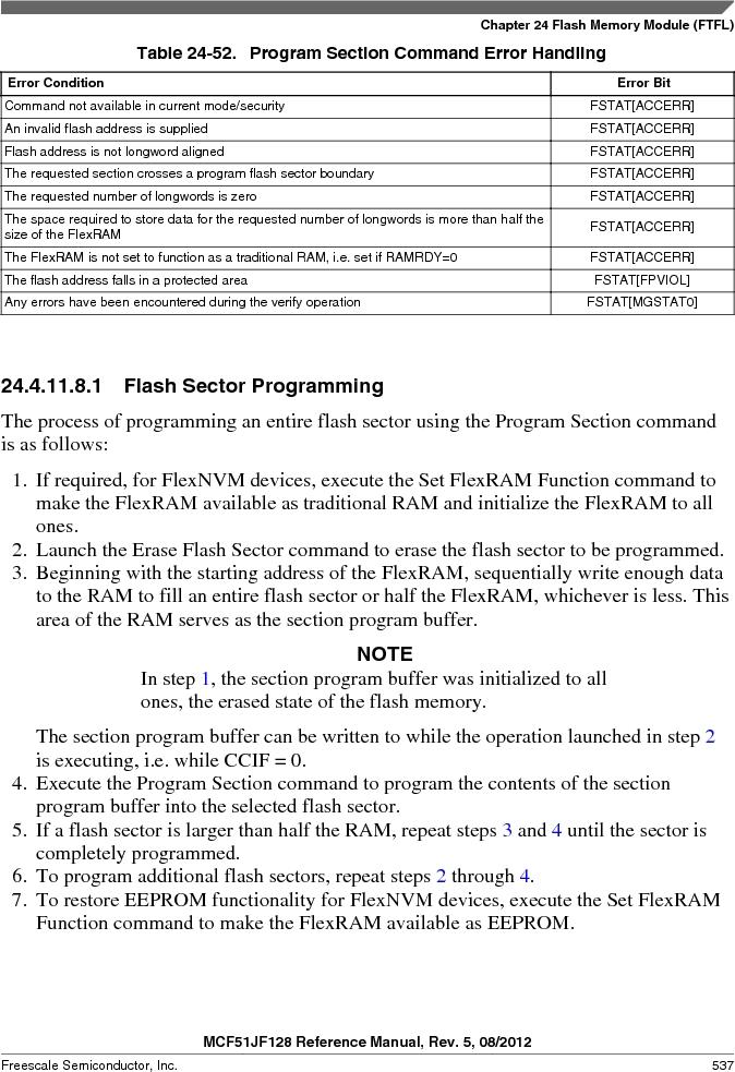 MCF51JF32VHS ,Freescale Semiconductor厂商,IC MCU 32BIT 32KB FLASH 44LGA, MCF51JF32VHS datasheet预览  第537页