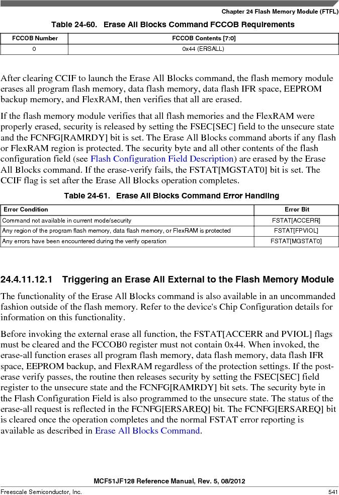 MCF51JF32VHS ,Freescale Semiconductor厂商,IC MCU 32BIT 32KB FLASH 44LGA, MCF51JF32VHS datasheet预览  第541页