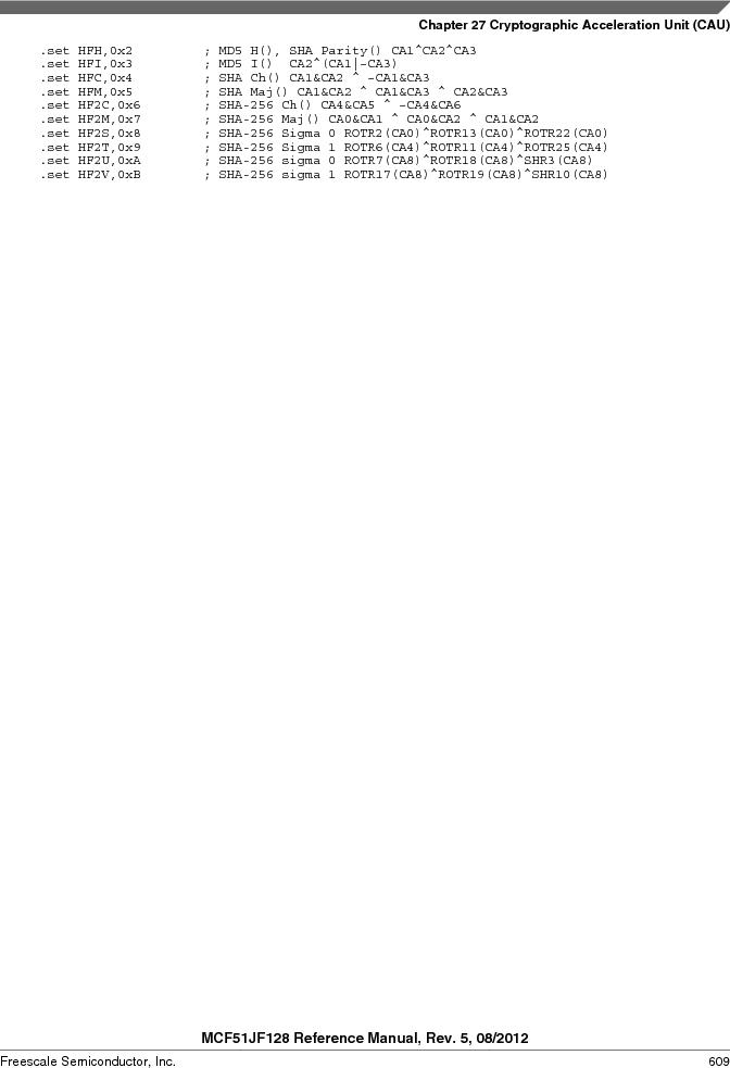 MCF51JF32VHS ,Freescale Semiconductor厂商,IC MCU 32BIT 32KB FLASH 44LGA, MCF51JF32VHS datasheet预览  第609页