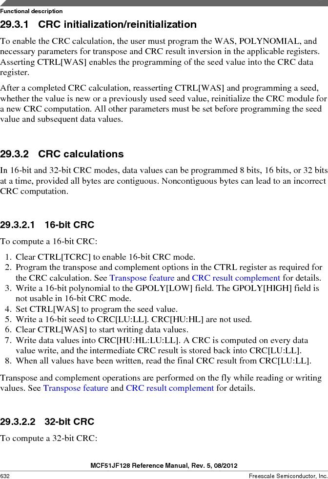 MCF51JF32VHS ,Freescale Semiconductor厂商,IC MCU 32BIT 32KB FLASH 44LGA, MCF51JF32VHS datasheet预览  第632页