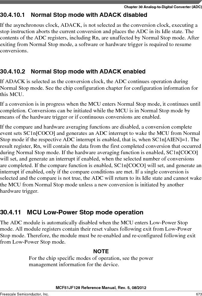 MCF51JF32VHS ,Freescale Semiconductor厂商,IC MCU 32BIT 32KB FLASH 44LGA, MCF51JF32VHS datasheet预览  第673页