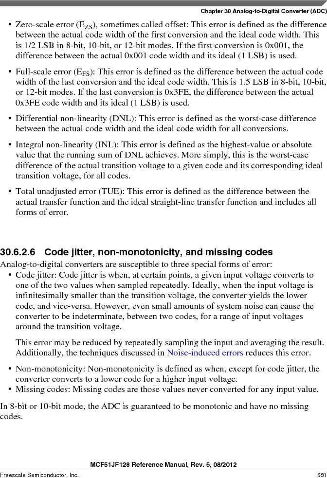 MCF51JF32VHS ,Freescale Semiconductor厂商,IC MCU 32BIT 32KB FLASH 44LGA, MCF51JF32VHS datasheet预览  第681页
