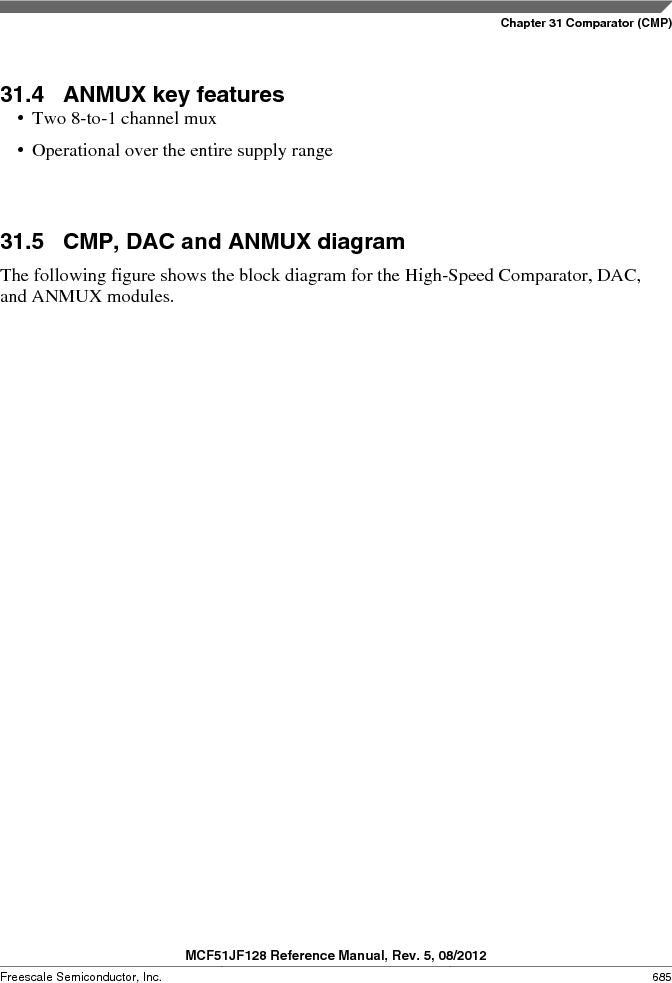MCF51JF32VHS ,Freescale Semiconductor厂商,IC MCU 32BIT 32KB FLASH 44LGA, MCF51JF32VHS datasheet预览  第685页