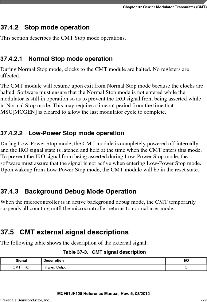 MCF51JF32VHS ,Freescale Semiconductor厂商,IC MCU 32BIT 32KB FLASH 44LGA, MCF51JF32VHS datasheet预览  第779页