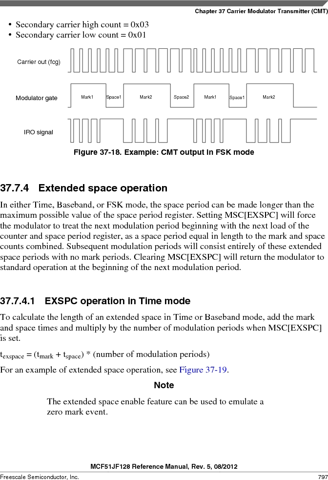 MCF51JF32VHS ,Freescale Semiconductor厂商,IC MCU 32BIT 32KB FLASH 44LGA, MCF51JF32VHS datasheet预览  第797页