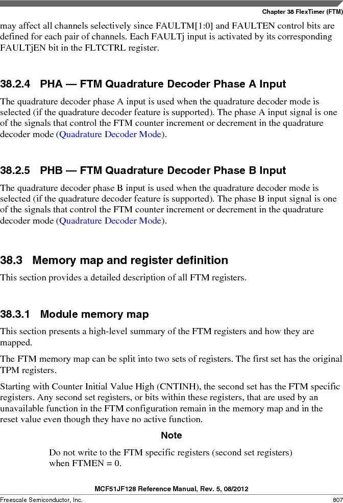 MCF51JF32VHS ,Freescale Semiconductor厂商,IC MCU 32BIT 32KB FLASH 44LGA, MCF51JF32VHS datasheet预览  第807页