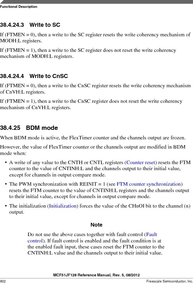 MCF51JF32VHS ,Freescale Semiconductor厂商,IC MCU 32BIT 32KB FLASH 44LGA, MCF51JF32VHS datasheet预览  第902页