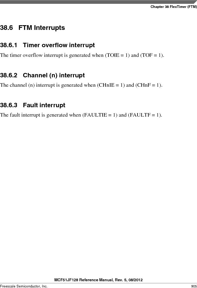 MCF51JF32VHS ,Freescale Semiconductor厂商,IC MCU 32BIT 32KB FLASH 44LGA, MCF51JF32VHS datasheet预览  第905页
