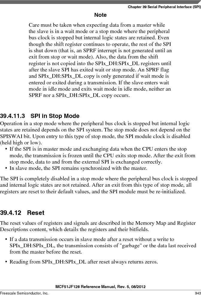MCF51JF32VHS ,Freescale Semiconductor厂商,IC MCU 32BIT 32KB FLASH 44LGA, MCF51JF32VHS datasheet预览  第943页